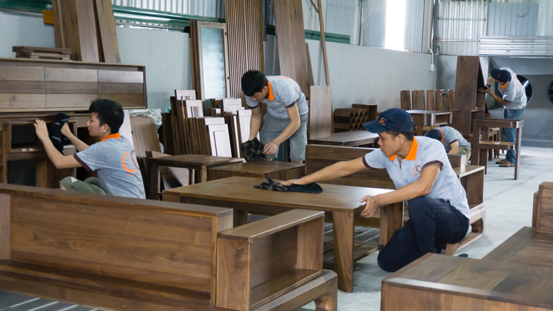 xưởng sản xuất gỗ anh đoàn
