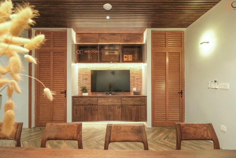 tác dụng của gỗ óc chó làm nội thất