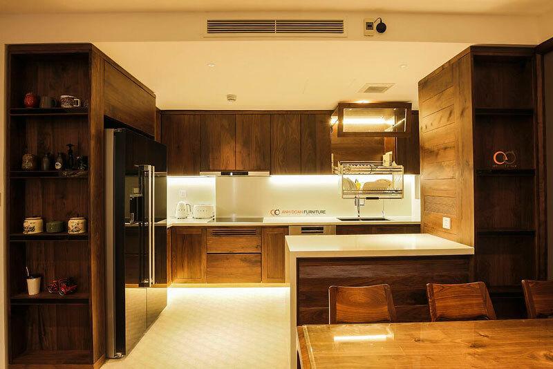 phòng bếp chung cư s4 season