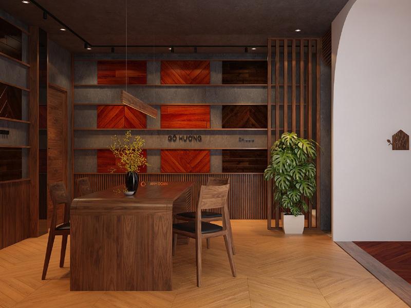 nội thất gỗ óc chó cao cấp