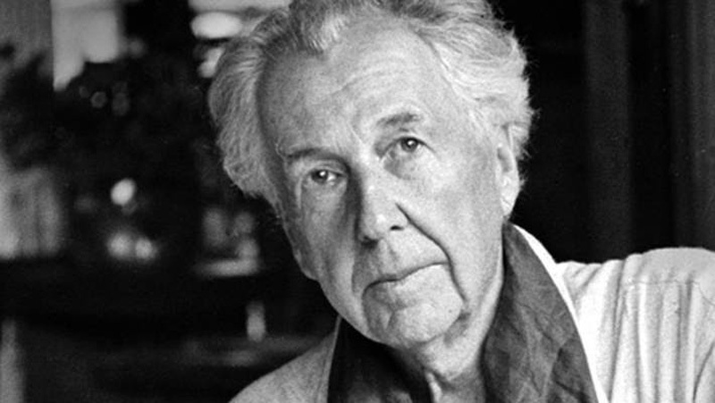 nhà thiết kế nội thất nổi tiếng Frank Lloyd Wright