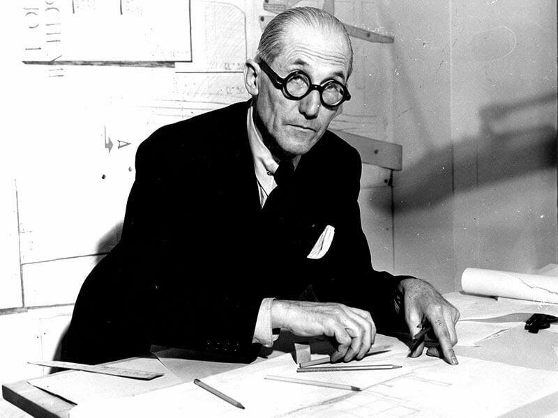 nhà thiết kế Le Corbusier