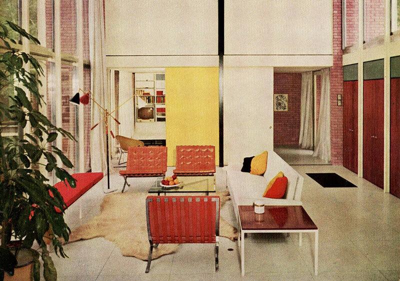 Thiết kế nội thất tinh tế của Florence Knoll Bassett.