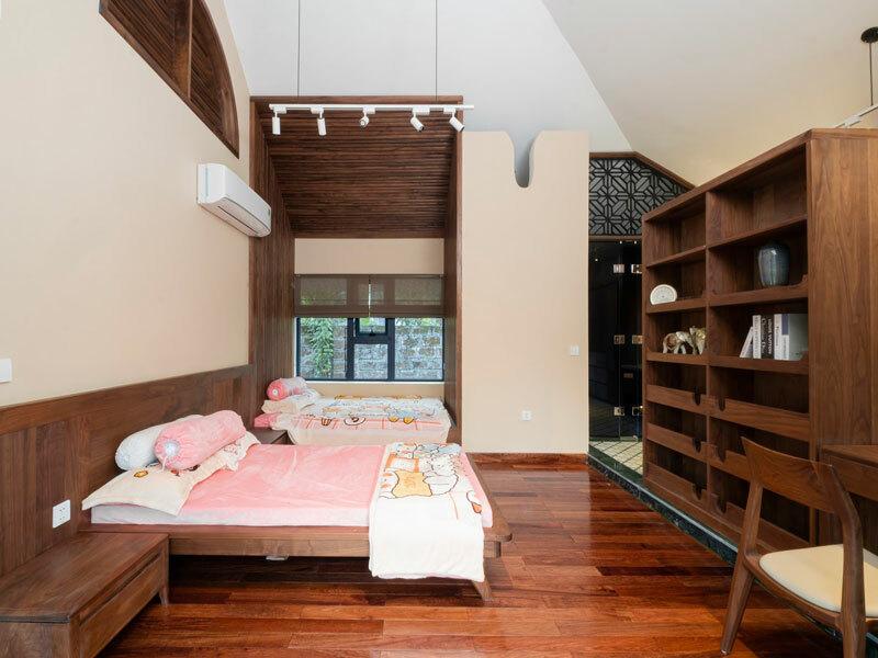 thiết kế phòng ngủ biệt thự