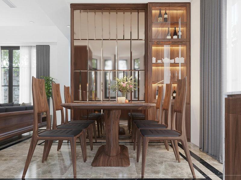 thiết kế thi công nội thất phòng khách imperia