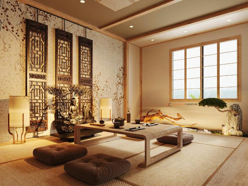 bố trí hệ thống ánh sáng vào không gian nội thất một cách hợp lý