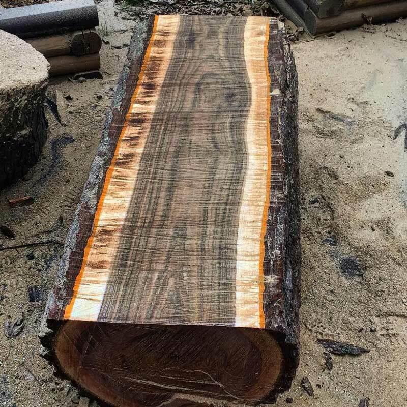 gỗ nhập theo dạng tròn
