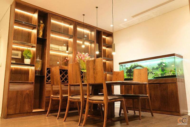 gói thiết kế nội thất chung cư theo yêu cầu