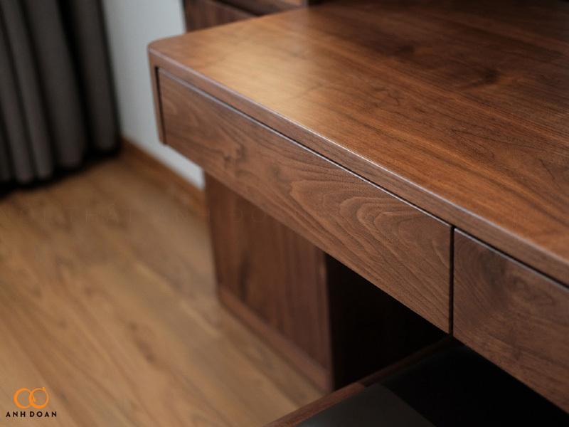 gỗ óc chó làm nội thất chung cư cao cấp
