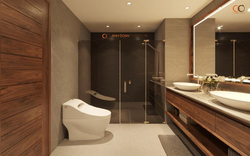 nội thất phòng vệ sinh chung cư cao cấp