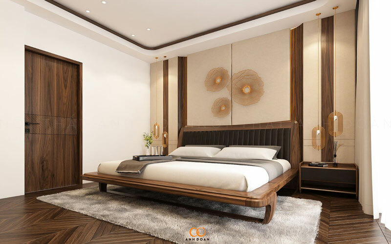 thiết kế phòng ngủ căn hộ cao cấp