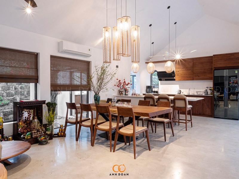 nội thất phòng bếp căn hộ cao cấp