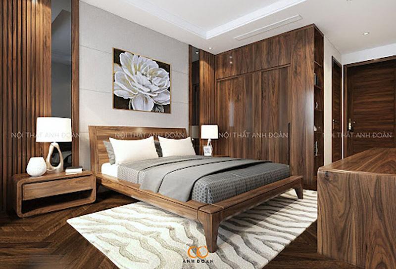 Cách bố trí nội thất phòng ngủ hợp phong thuỷ