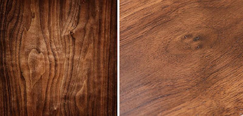 Cách nhận biết màu sắc gỗ óc chó
