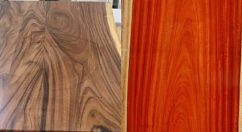 So sánh gỗ óc chó và gỗ hương | Loại nào bền đẹp hơn?
