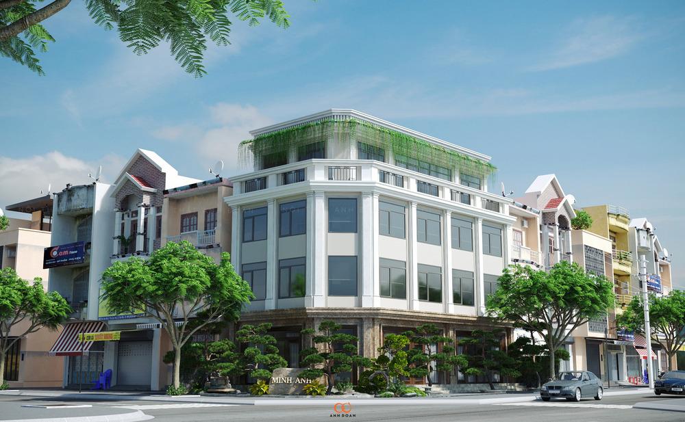 Toà Biệt Thự Văn Phòng Linh Đàm